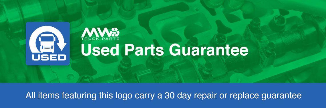 Used Parts Guarantee