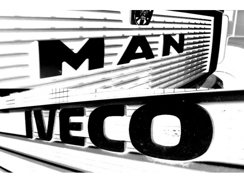 Spare parts for MAN and IVECO trucks