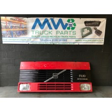 Volvo FL10 Front Grill Including Headlamps and Brackets