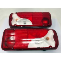 Pair of original OE Combination rear lights for Scania P & R Series