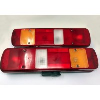 Pair of Volvo FH rear combination lights original OE