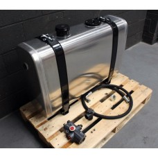 New Hydraulic Tank Aluminium 190 Lit Valve, Pipes & Brackets