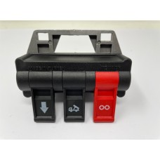 """PTO Air Switch Pneumatic 3 Way Switch 1/4"""" BSP"""
