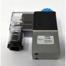 """24V DC Solenoid Valve Pneumatic 1/4"""" BSP (NC)"""