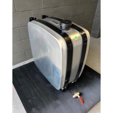 200 Litre Aluminium Hydraulic Oil Tank Side Mounted Rear Inlet