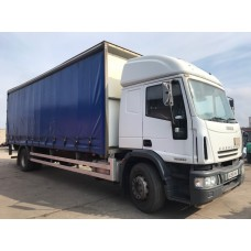 Iveco Eurocargo 180E24 Curtain Sider Manual on Steel Export