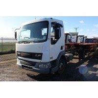 Breaking a 2001 DAF LF45-170 Truck For Parts