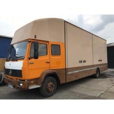 *MINT* Vintage 1988 Mercedes 1317 RARE Sleeper Cab Box Truck